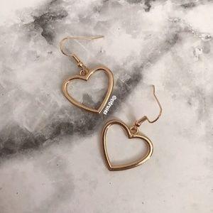 ♥️BRAND NEW GOLDEN HEART EARRINGS♥️